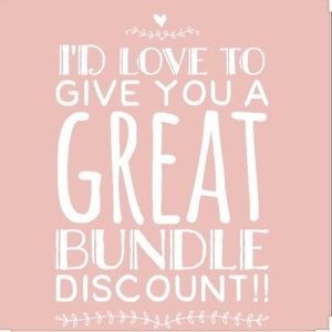 Other - Bundle Items in my Closet & make me an offer !